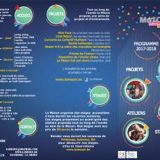 Programme 2017-2018 – Des nouveautés dans les ateliers!