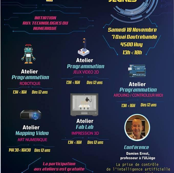 Next-Jeunes  «initiation aux technologies du numérique» Samedi 18 Novembre