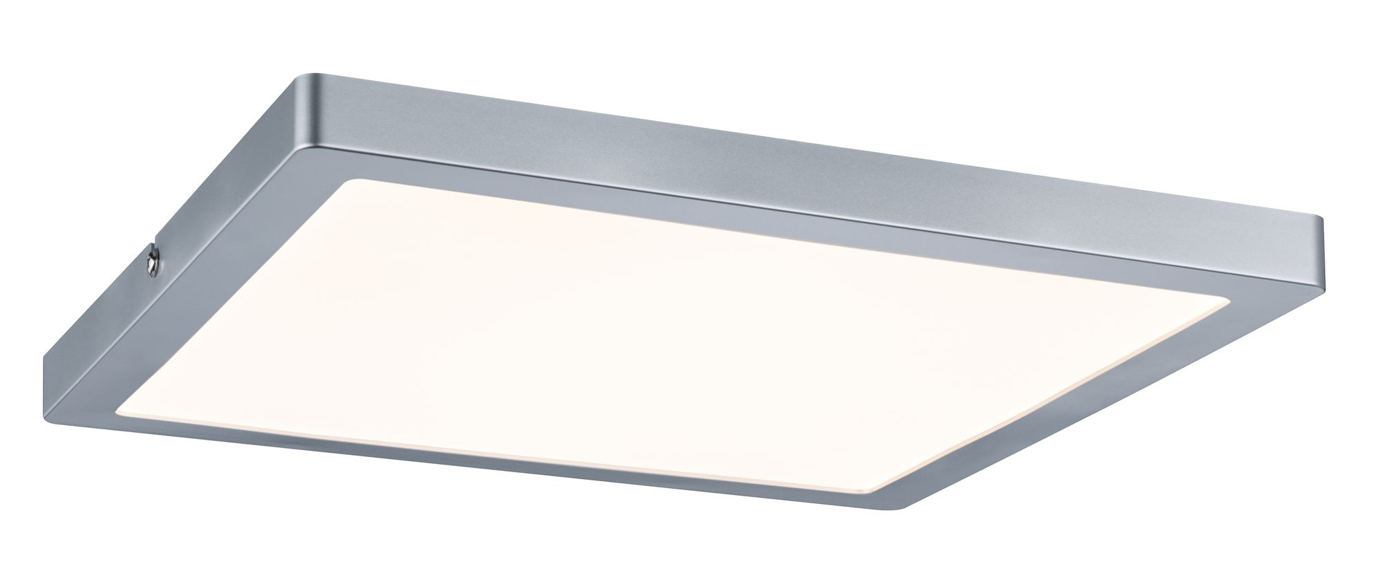 Led Panel Dimmbar Wand Deckenleuchte Atria Led Panel Eckig 24w Chrom Matt