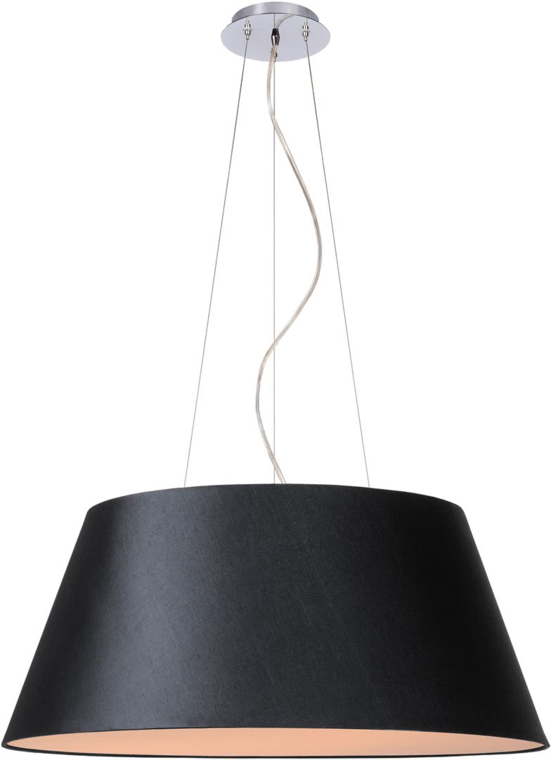 Suspension Contemporaine Suspension Contemporaine Coton Noir Alrick