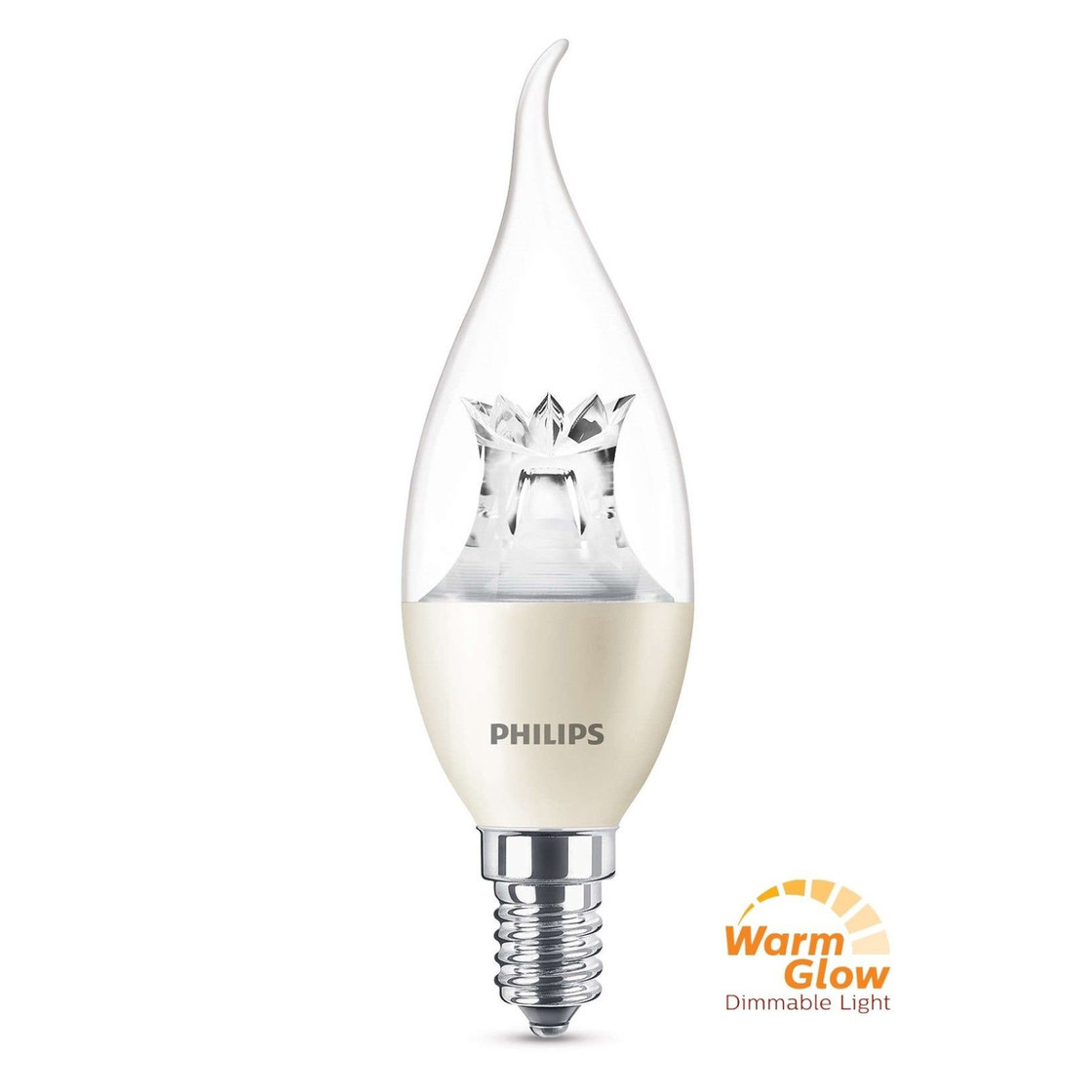 Led E14 Dimmbar Philips Led E14 Filament Windstoß Kerze Lampe 4w 25w