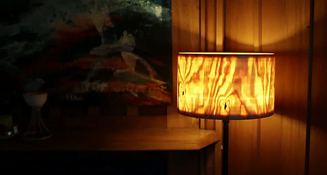 Holz Lampe Schlafzimmer Lampenschirm Aus Holz