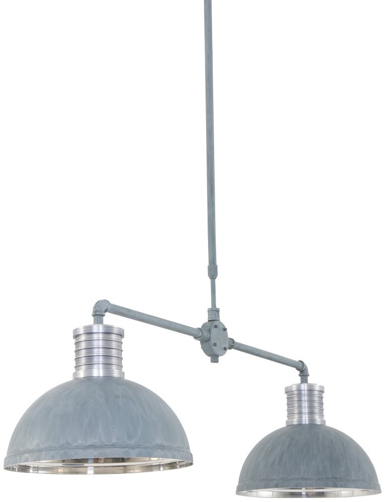 Eclairage Exterieur Led Detecteur Double Suspension Luminaire Steinhauer Brooklyn