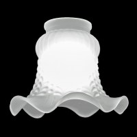 #7720 - Frosted Tulip Shade - Glass Lampshades