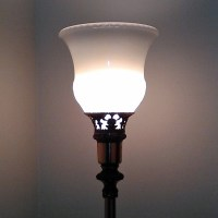 Torchiere Glass Lamp Shades - Pearl Torchiere Shade ...