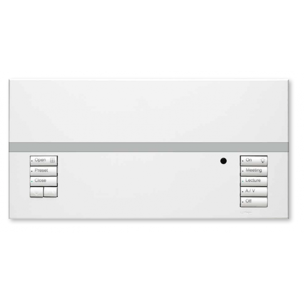 Lutron 4 Zone Lighting Control Lutron Qsgrk-4pce-twh