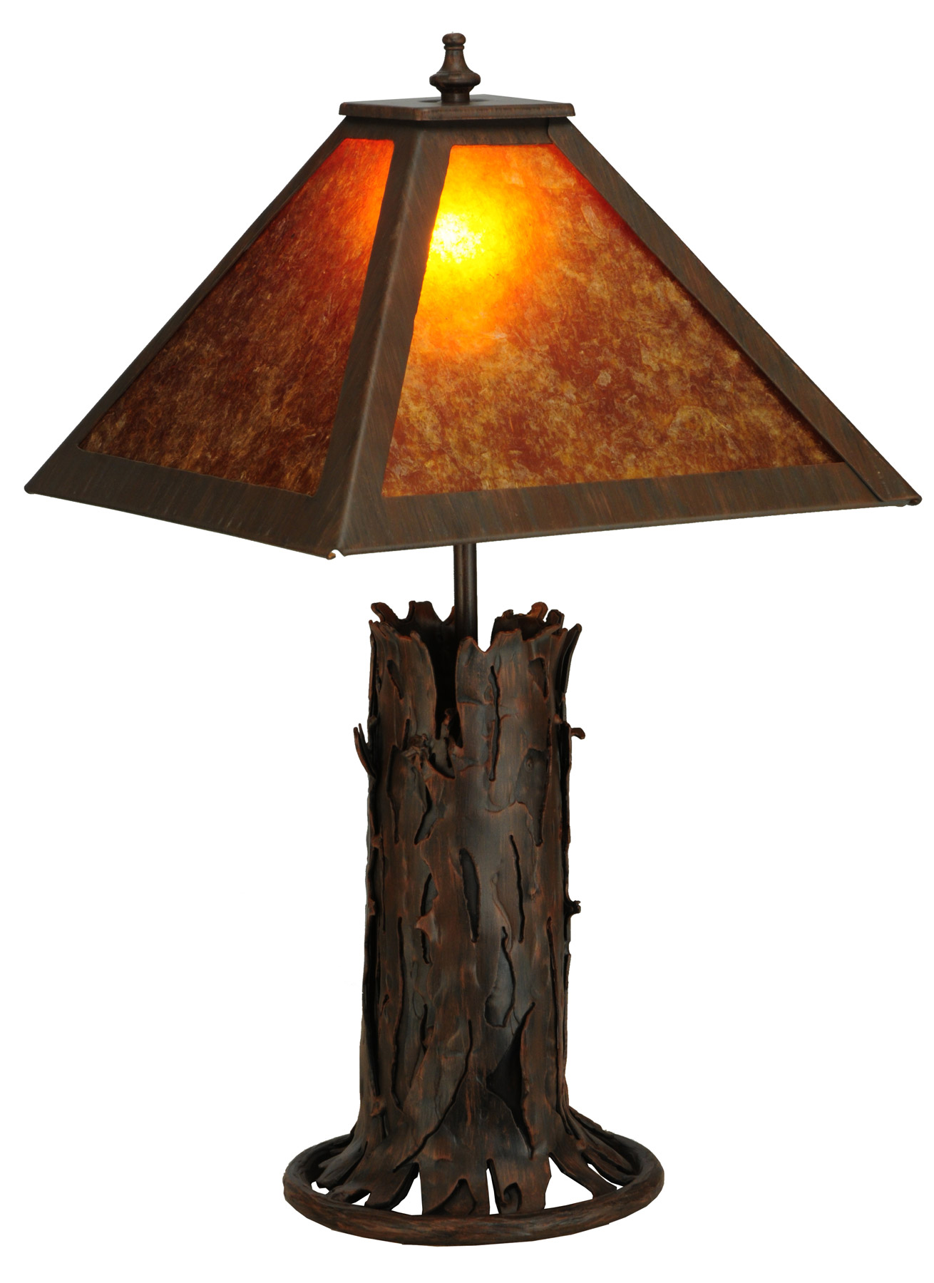 Simple Table Lamp Meyda 141532 Northwoods Simple Table Lamp