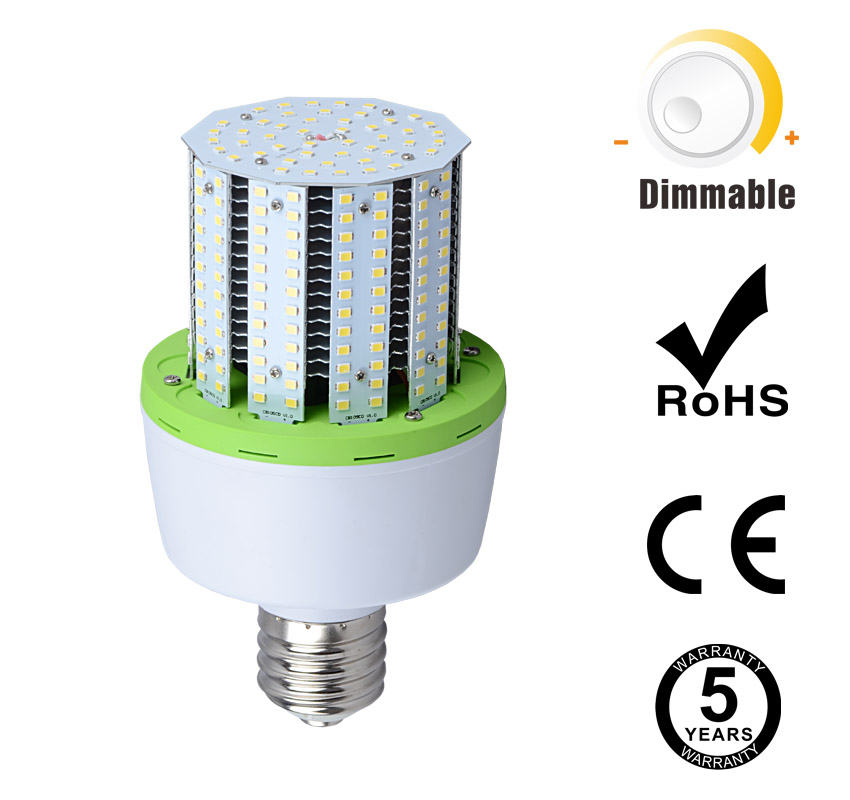 40W Dimmable 0-10V PWM Resistance LED Corn Bulbs 5200Lm ...