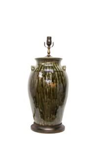 Glazed Pottery Lamp | The Lamp Shoppe