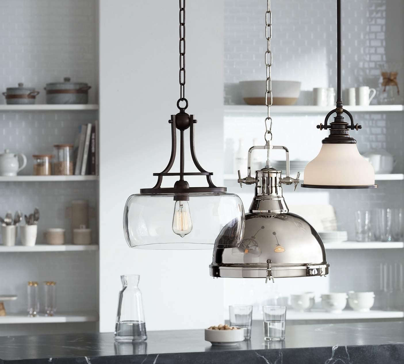 Pendant Lighting How To Hang Pendant Lighting In The Kitchen Ideas Advice