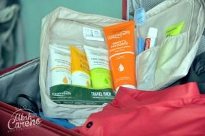 Cosmoderm Travel Pack, produk wajib bawa ketika bercuti