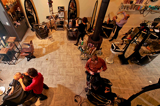 Hair salon in NYC, best haircuts in NYC