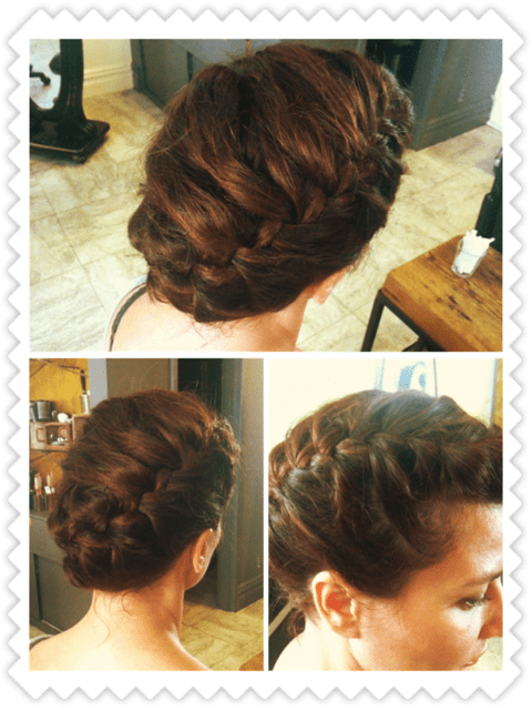 braided updo picture
