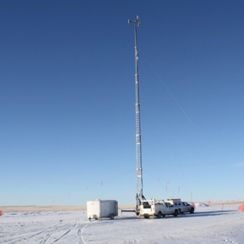 Portable Telescopic Light Tower: LMS120 HD 120' TELESCOPING PORTABLE CRANK UP TOWER