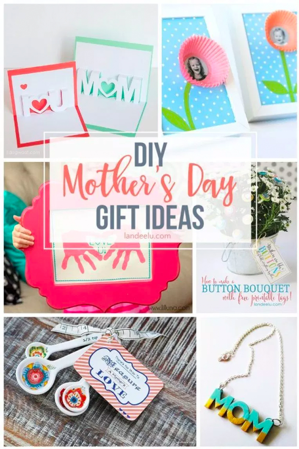 Awesome Diy Mother's Day Gifts Diy Mothers Day Gift Ideas Landeelu