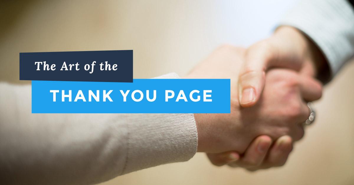 Thank You Landing Page Elements That Trigger Conversion - Lander Blog