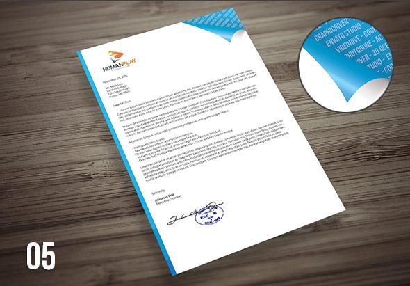 7 Corporate Letterhead Templates Pack - Landisher