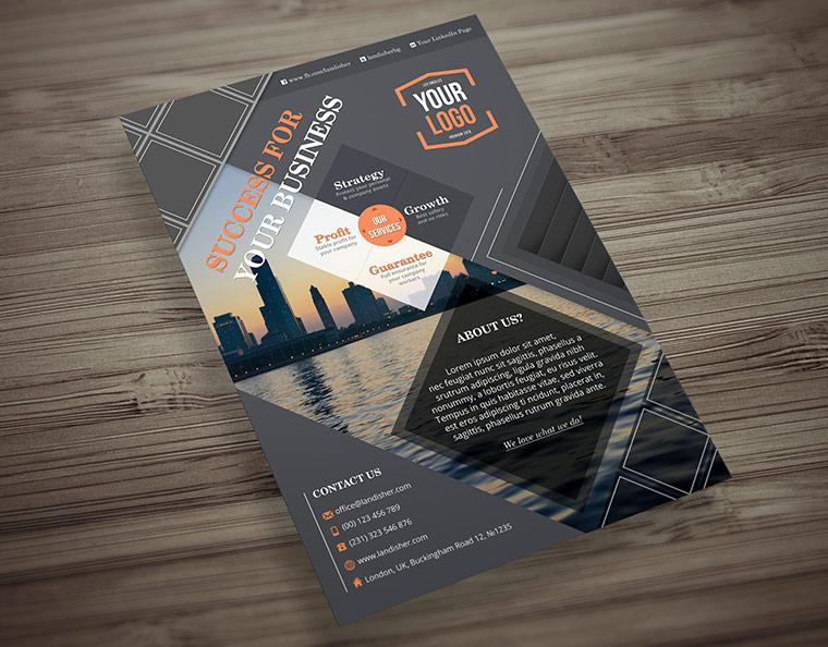 Business Flyer/Brochure Template - Landisher