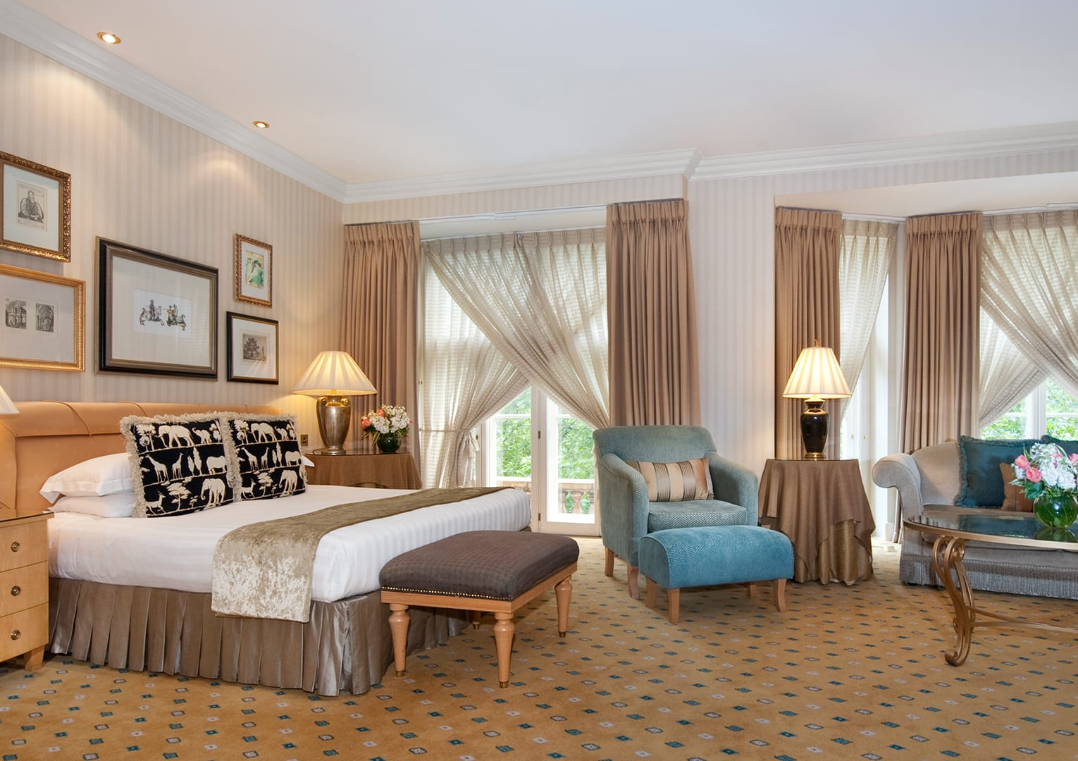Hotel Bedroom Sizes Uk Luxury Hotel Rooms And Suites The Landmark London