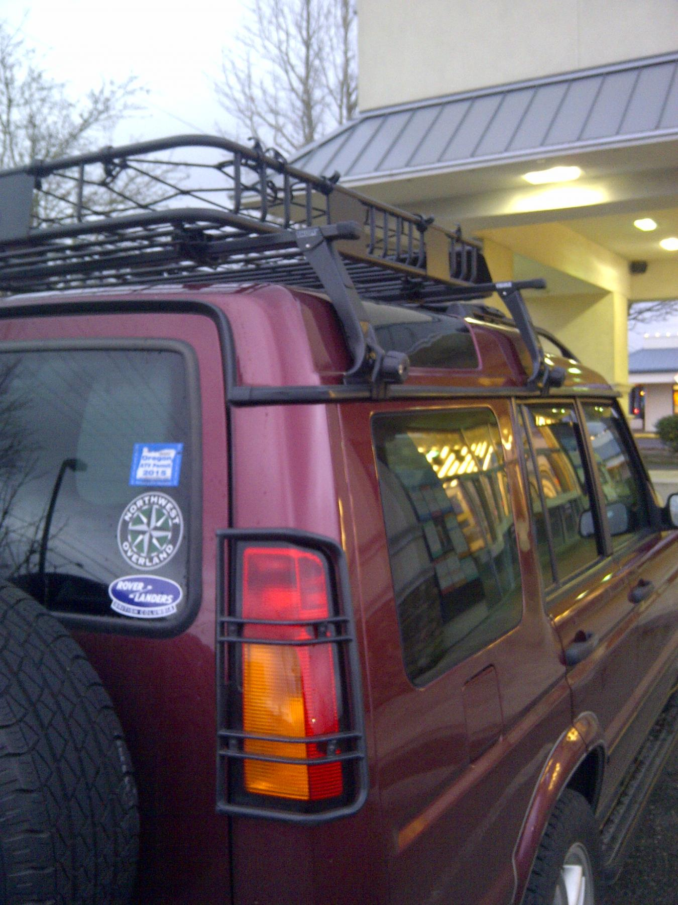 Roof Racks Baskets Land Rover Forums Land Rover