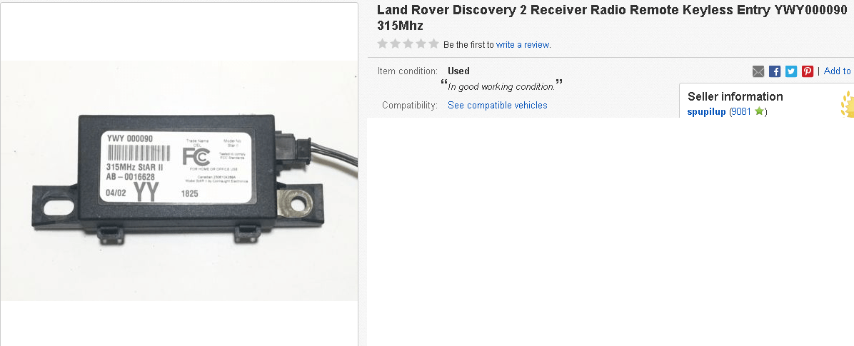 land rover remote keys 3 button landrover remote key