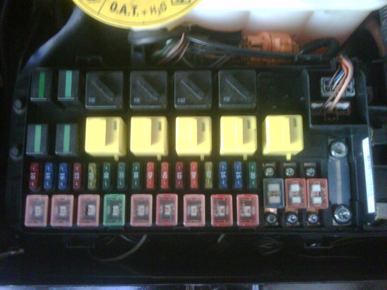 range rover classic fuse box cover