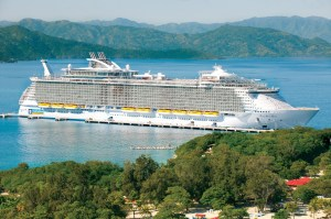 Royal Caribbean Allure of the Seas in Labadee