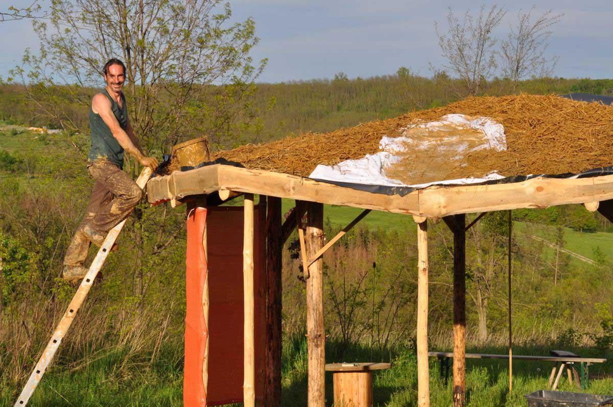 Sommerküche Aus Paletten : Sommerküche bauen outdoor kitchen with bbq and egg outdoor