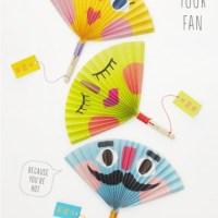 Ventalls de paper, ideals per l'estiu