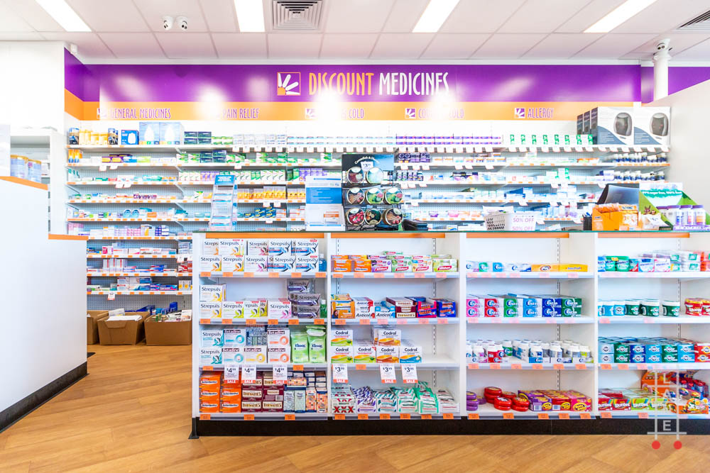 Shop Lighting Fixtures Led Discount Drug Store - Trinity - Pharmacy - Perth Shop
