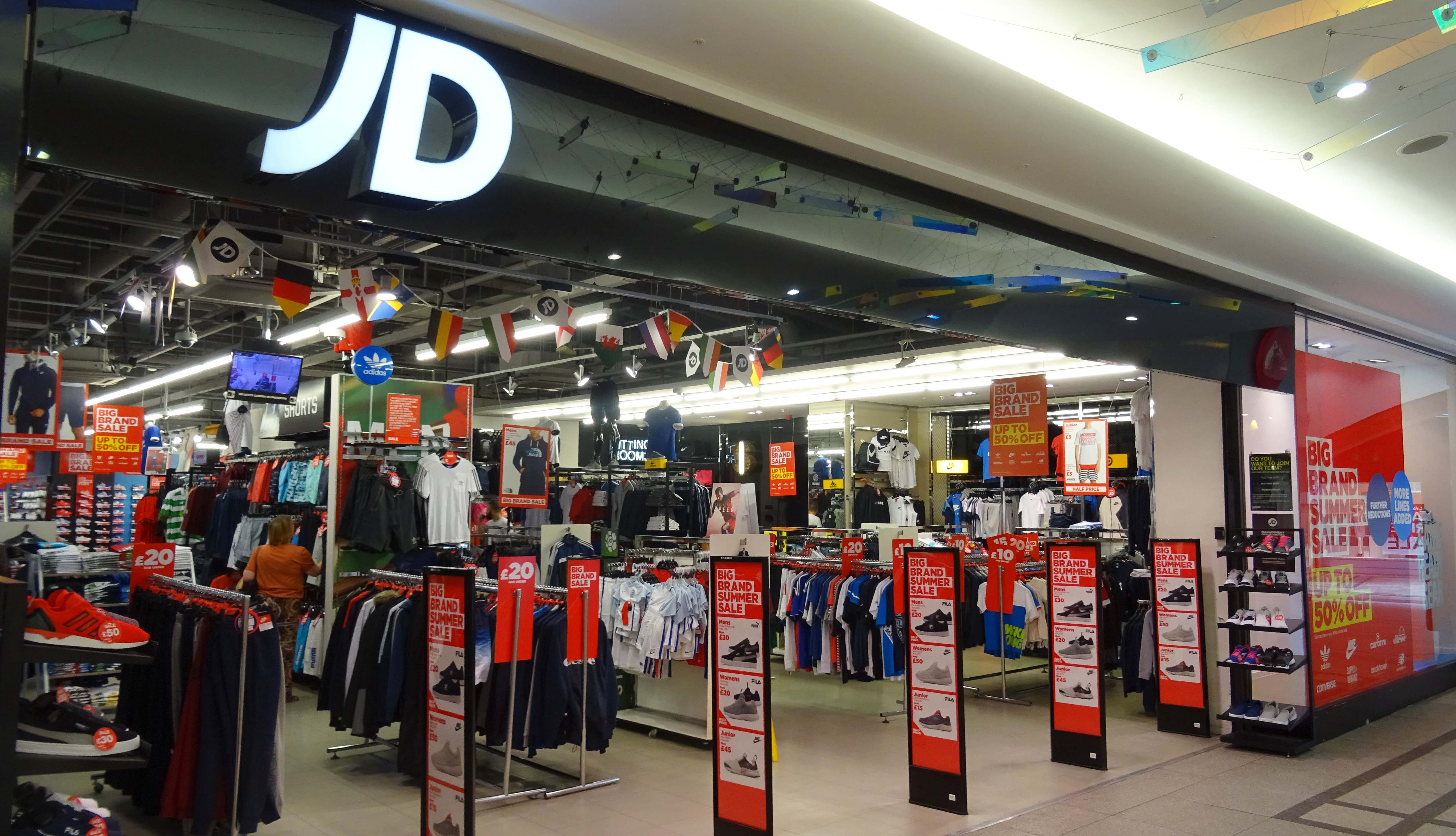 Jd Sports Jd Sports The Lanes Shopping Centre
