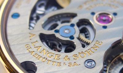 A. Lange & Söhne – Kaliber L044.1 Closeup