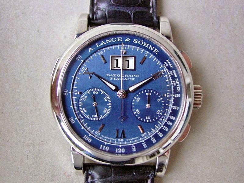 Lange Datograph blue dial piece unique.jpg[1]