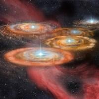 Gugus Bintang Monster di Alam Semesta Dini