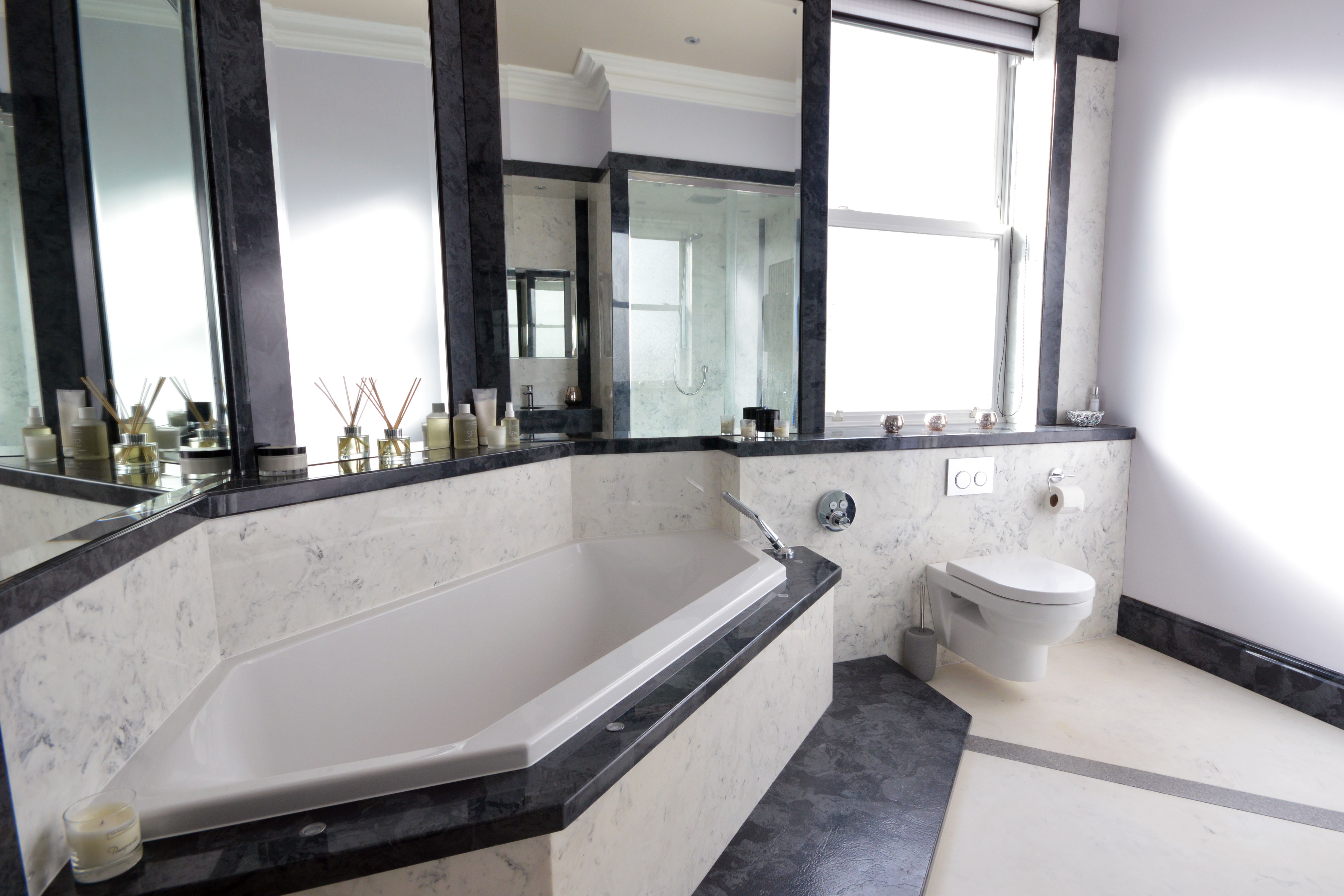 Bathroom Mirrors With Tv Built In Langley Interiors Villeroy And Boch Diamond Bath Fully