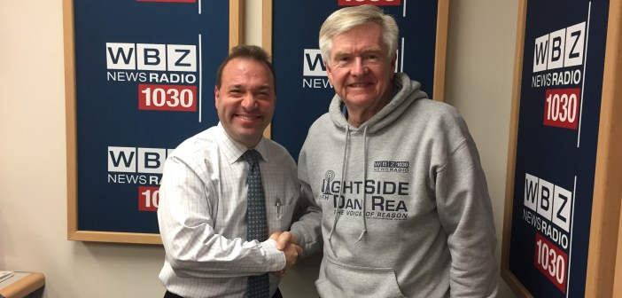 Thanks to CBS Radio / WBZ AM 1030 for NightSide Appearance