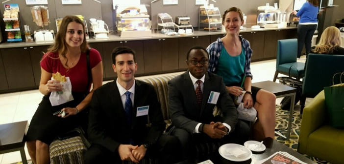 "BU Questrom student: ""Best Q&A"" award at Case Competition"