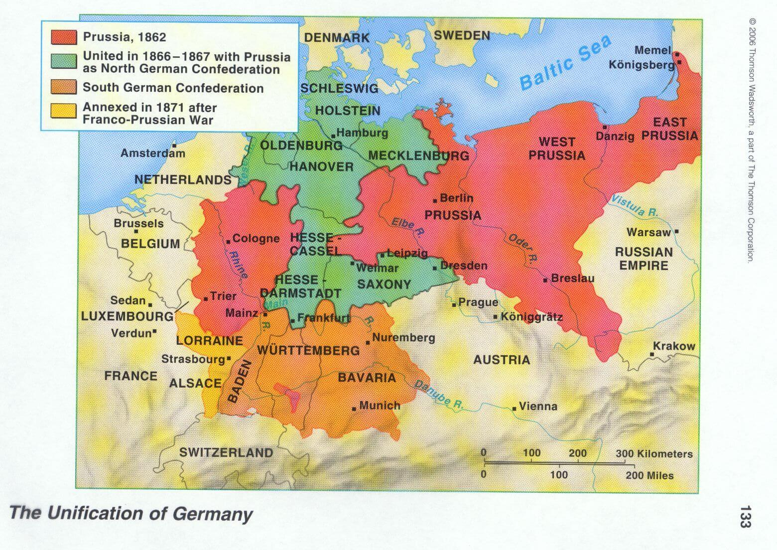 Maps Oldenburg Map Of Twentieth Century Europe Imagined In 1863 Languages Of The