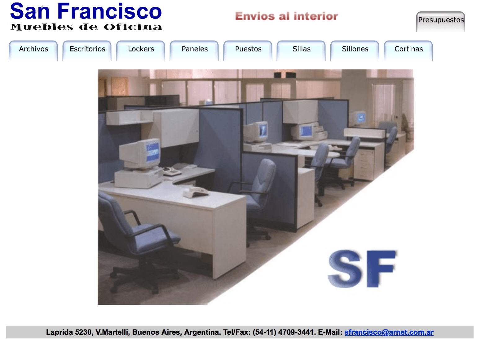 Muebles San Francisco Ecija San Francisco Muebles: A Website From The 90's! | Lantean