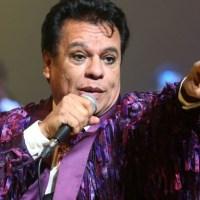Juan Gabriel anuncia se lesiona en concierto