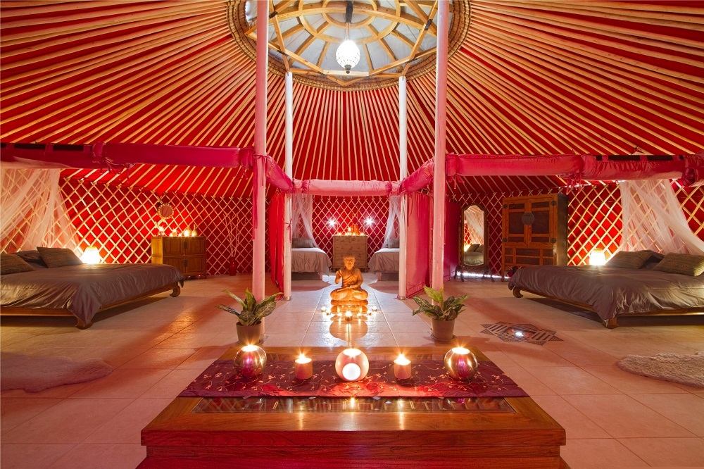 Decoration Salle Mariage Orientale Eco Yurt Royale Arrieta Lanzarote Spain | Lanzarote Retreats