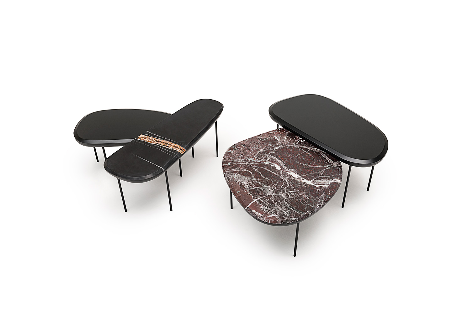 Divani Definition Pebble Low Tables For Living Divani Lanzavecchia Wai Design