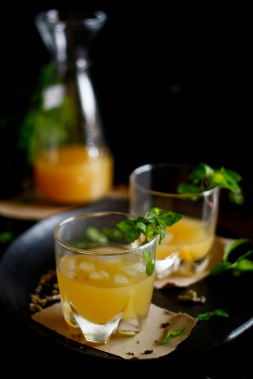 Delicious savoury vodka based cocktail with indian spice notes