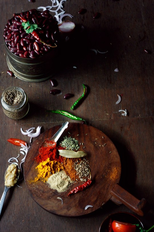 rajma ingredients