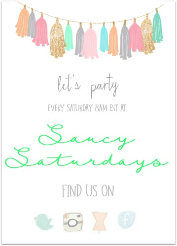 Saucy saturdays link party is for all food bloggers and DIY, crafts bloggers to join us and share their work with us. Its hosted by Swayampurna Mishra Singh, aka, Lapetitchef every Saturday.