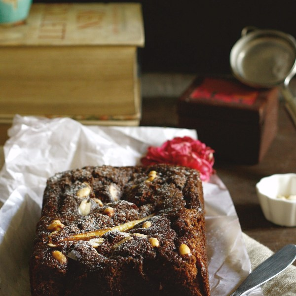 Chocolate espresso banana bread is flavored with coffee,chocolate, loaded with nuts and has the goodness of bananas in it,perfect for Mother's day!