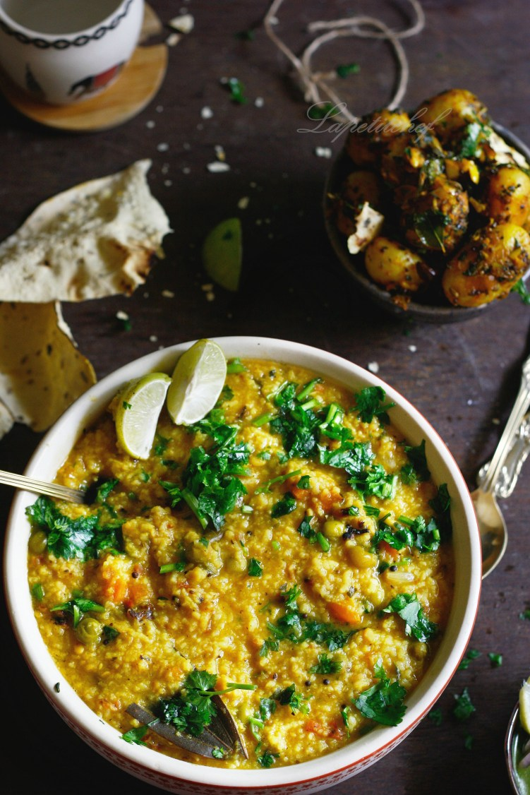 Khichdi or one pot rice and lentil stew1