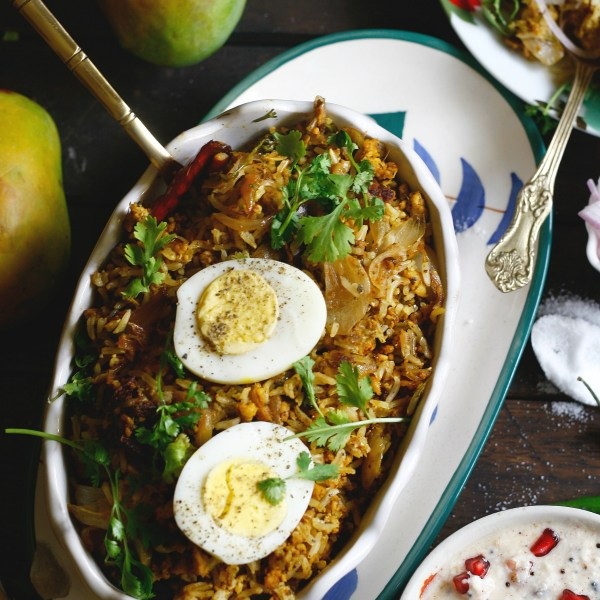 chicken keema pulao