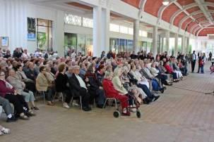 Concert sous la galerie du dimanche après-midi.