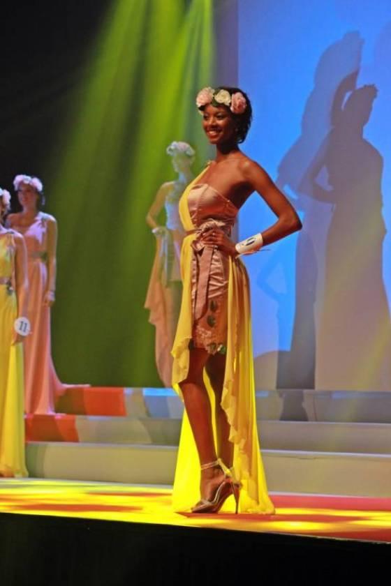 Justine Kamara, Miss Lorraine 2016.